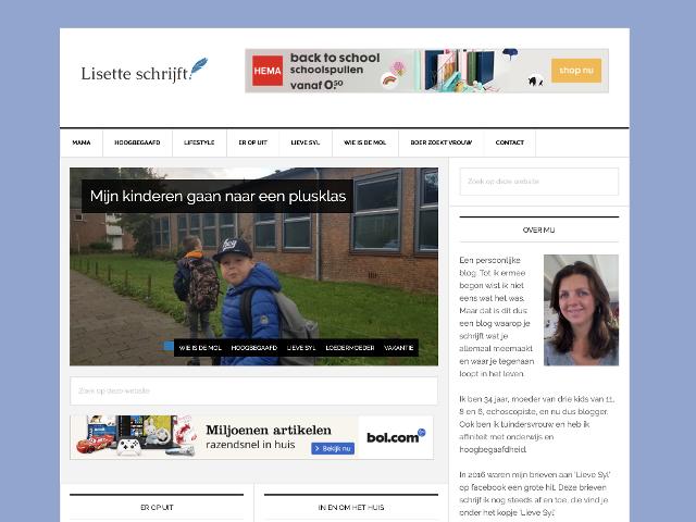 lisetteschrijft.nl