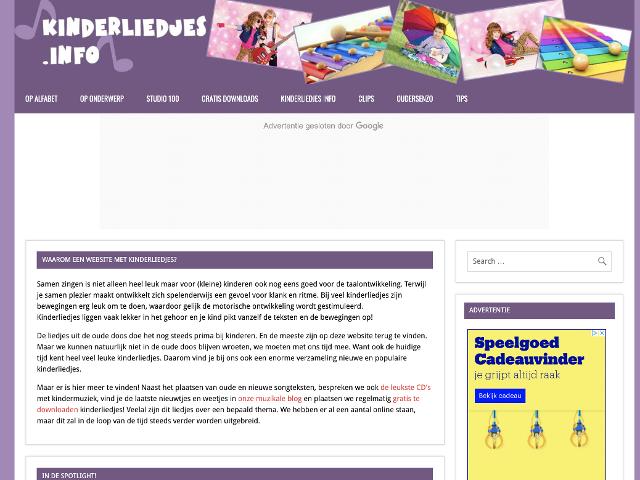 kinderliedjes.info