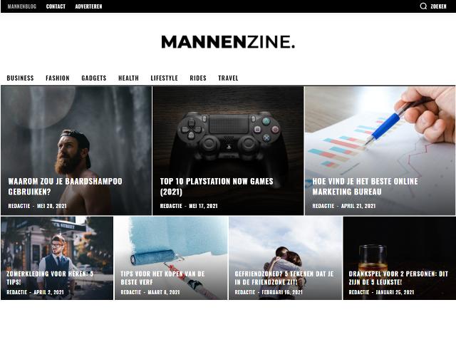 mannenzine.nl