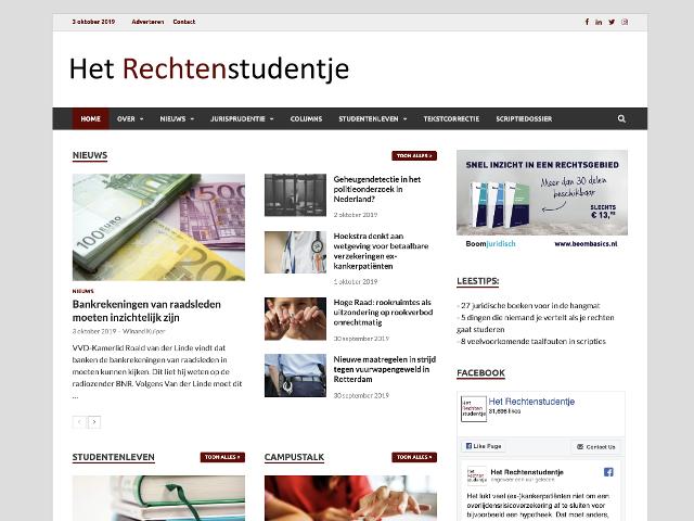 hetrechtenstudentje.nl