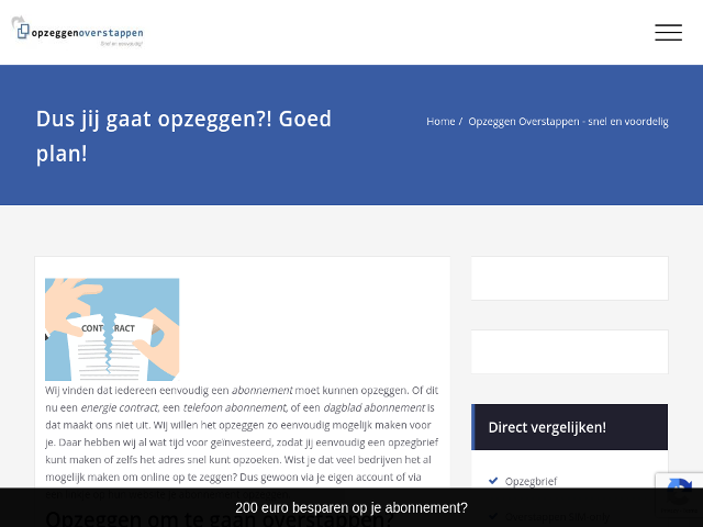 opzeggenoverstappen.nl