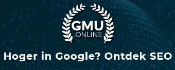 GMU - Hoger in Google? Ontdek SEO