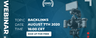 GMU | Webinar - Seo backlinks