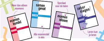 #geenexamenstress en #zekerslagen met Examenbundel