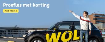 WOLF rijbewijsshop Proefles aanvragen