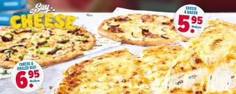 Say cheese pizza's - Domino's Pizza Nederland